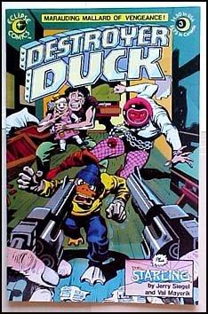 - Destroyer Duck Marauding Mallard of Vengeance!