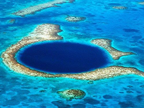 (Great Blue Hole-Coastal Symmetry in Sinkholes)