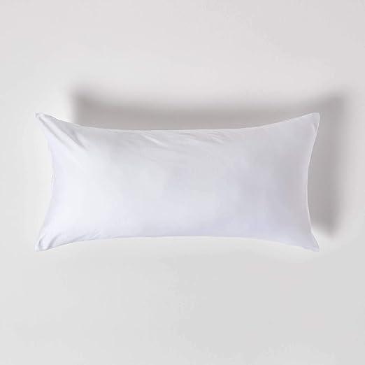 HOMESCAPES Funda de algodón orgánico para Almohada, 400 Hilos ...