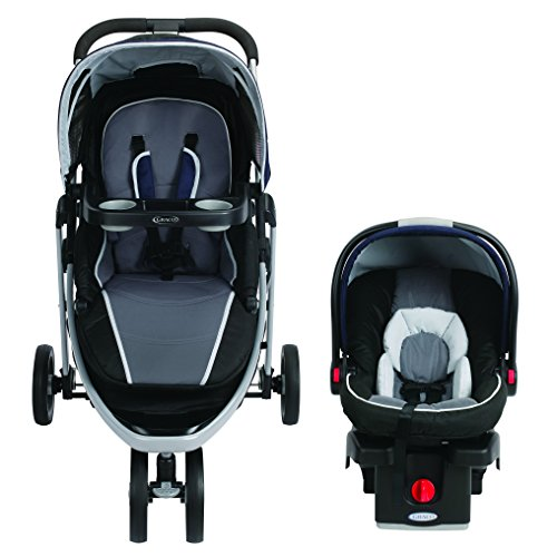 Graco Modes Sport Click Connect Travel System, Lunar Rock