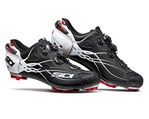 印をつける効率賃金SIDI(シディ) TIGER(タイガー) MTB Cycling Shoes - Matt Black/White [並行輸入品]