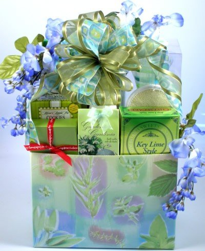 Beauty and Indulgence Premium Women's Spa Gift Basket for Her | Gourmet Gift Basket