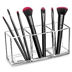 hblife Clear Makeup Brush Holder Organiz...