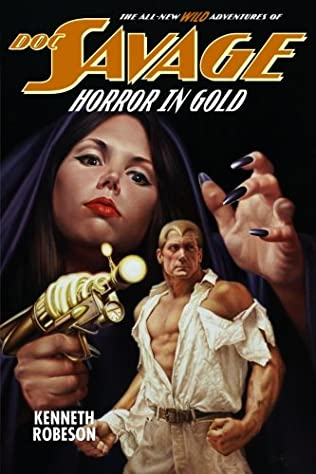 book cover of Horror in Gold