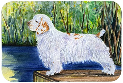 Carolines Treasures SS8261CMTClumber Spaniel Kitchen or Bath Mat Multicolor 20 by 30