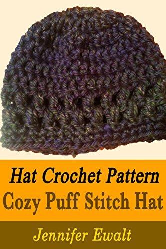Hat Crochet Pattern: Cozy Puff Stitch Hat
