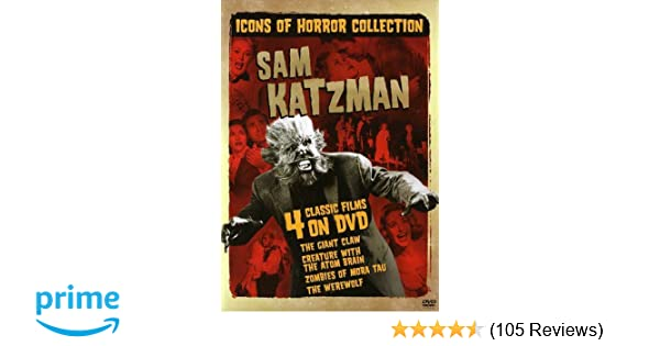 f9df35d57f932 Amazon.com: Icons of Horror Collection: Sam Katzman (The Giant Claw /  Creature with the Atom Brain / Zombies of Mora Tau / The Werewolf): Jeff  Morrow, ...