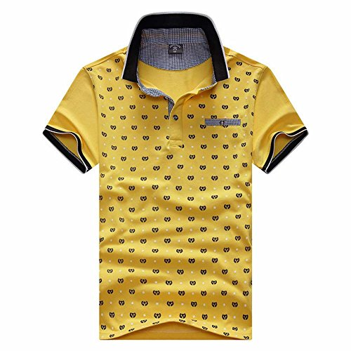 (メイク トゥ ビー) Make 2 Be メンズ カジュアル ドット柄 水玉 ポロシャツ 半袖 ゴルフ KB63