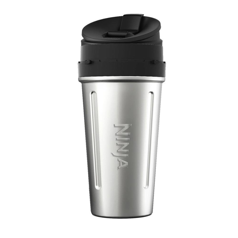 Original Ninja 24 oz Stainless Steel Cup replacement for Ninja Auto-iQ Blender BL490