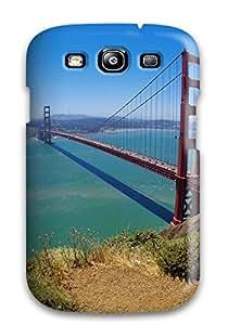 Heidiy Wattsiez's Shop Hot 3282635K40990845 Golden Gate Bridge Fashion Tpu S3 Case Cover For Galaxy