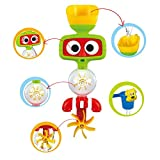 Bath Toys Flow N Fill Water Spout Interactive Baby Bathtub Toy No Battery required, Fun N Safety