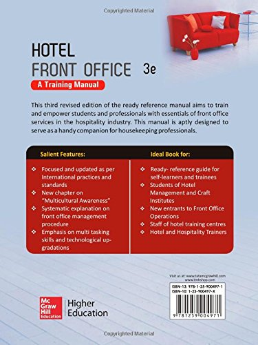 Buy Hotel Front Office: A Training Manual Book Online at Low Prices