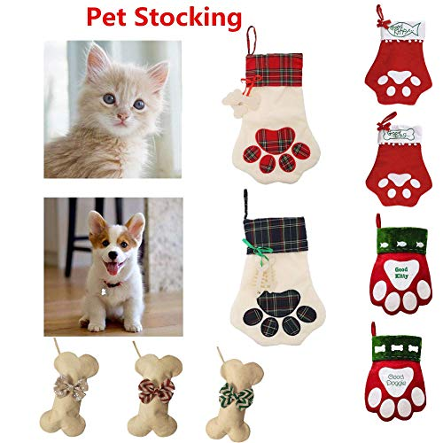 Personalized Pet Stockings - Mrwan Christmas Stocking for Pet Dog Cat Personalized Christmas Stocking for Puppy