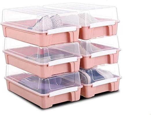 Velliceasay Transparente Caja de Zapatos Caja de plástico Hombres ...
