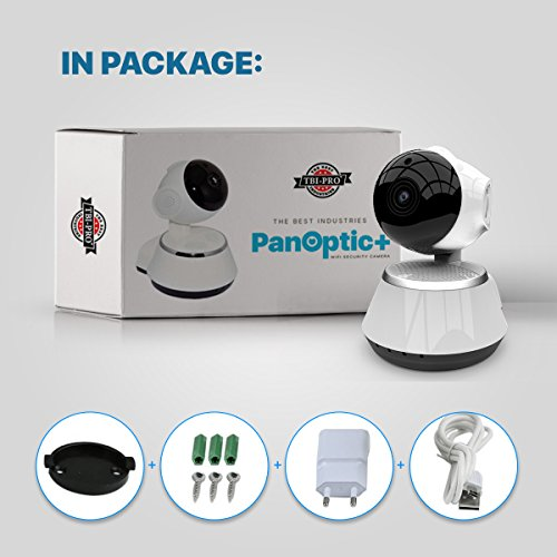 [New 2019 Upgraded] Wireless Security Camera - WiFi Home Surveillance 2.4G IP Remote Cameras for Baby/Pet/Nanny Monitor, Pan/Tilt, Two-Way Audio & Night Vision, 720p HD - Best App for iOS, Android by The Best Industries (Image #8)