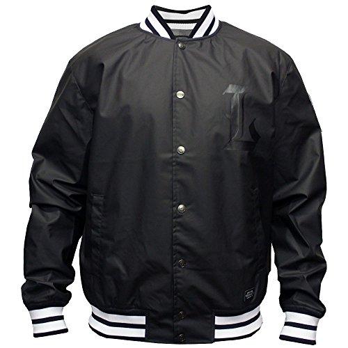 LRG Men's 47Th Ward Posse Starter Jacket Black by LRG