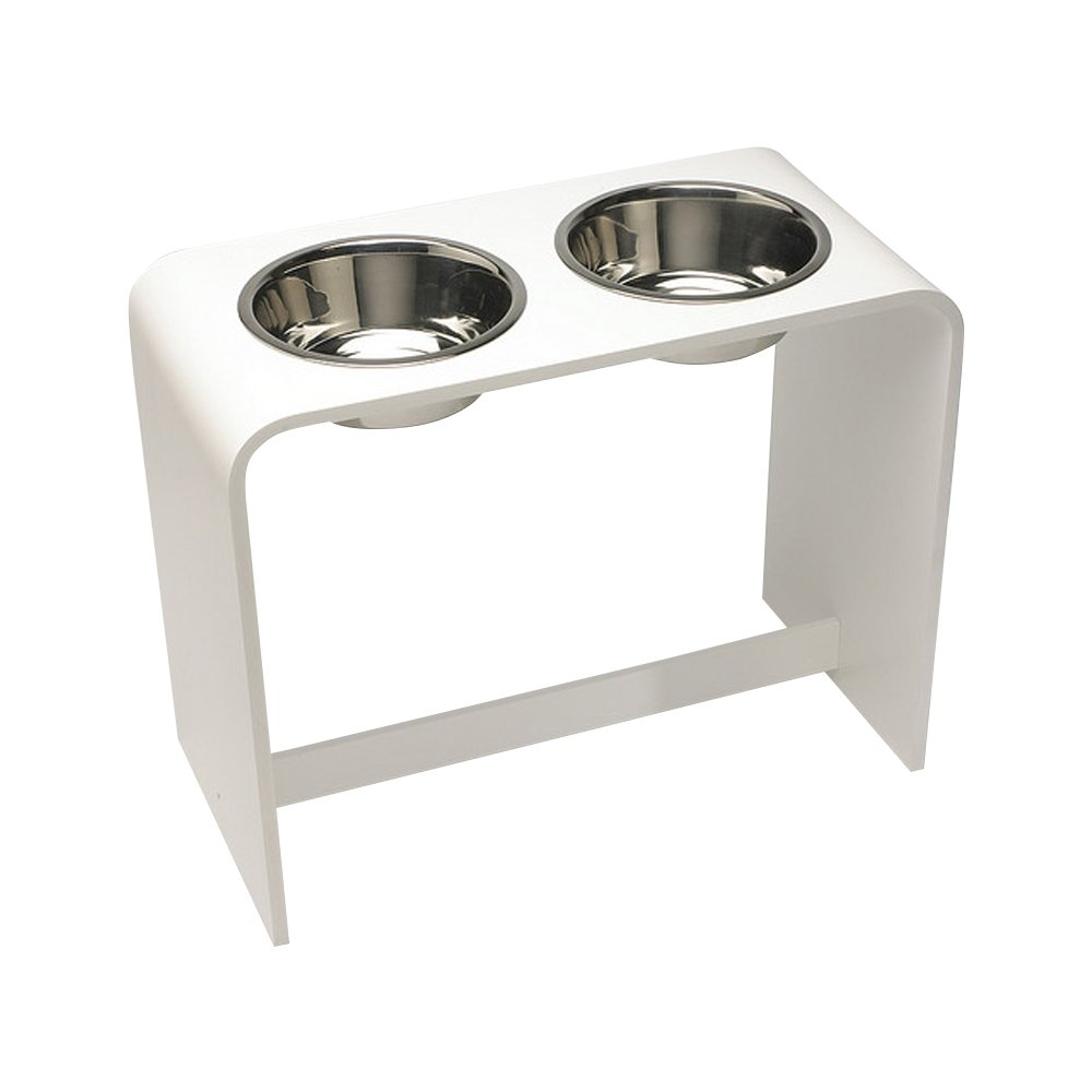 Trendy Pet Bowls, White, 14''/2 quart