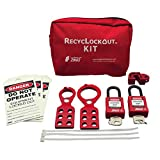 ZING 7119 RecycLockout Lockout Tagout Kit, 11 Component, General Application