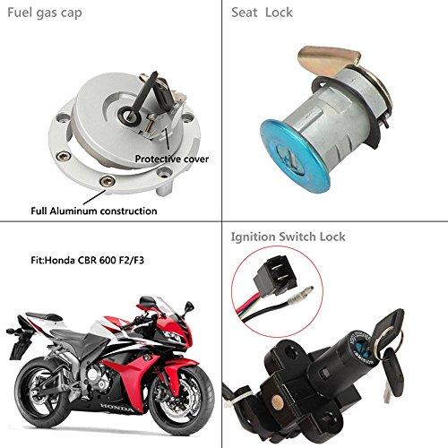 Amazoncom Innoglow Motorcycle Ignition Switch Seat Lock Fuel Gas