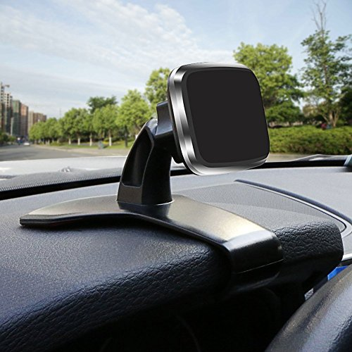 Kolorfish Car Phone Mount, [Super Strong Magnet] Universal Magnetic Dashboard Phone Holder Mount for Cell Phones and Mini Tablets