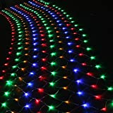 (US) Agptek 300 LED Connectable Net Mesh Fairy RGB Multi-color String Light Christmas Lights Lighting Party Wedding Festival Decroation Tree-wrap