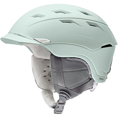 - Smith Optics Valence Women's Ski Snowmobile Helmet - Matte Ice/Large
