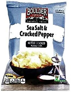 product image for Boulder Canyon Potato Chips - Sea Salt and Cracked (Pack Of 55)