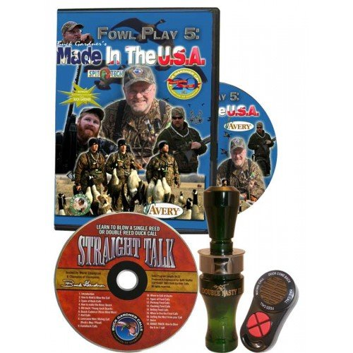 Buck Gardner Double Nasty Duck Call Combo Kit by Buck Gardner