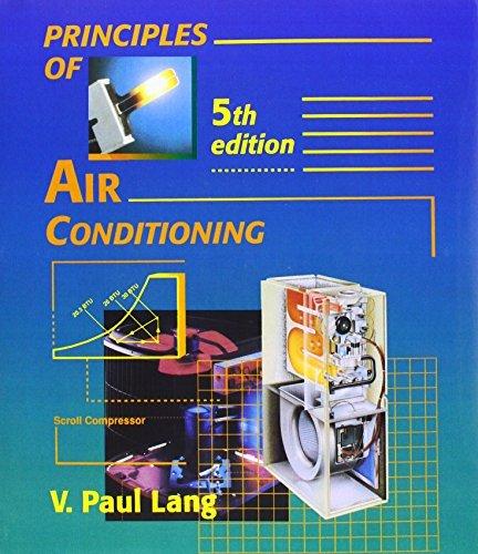Principles of Air Conditioning by V. Paul Lang (1995-04-17)