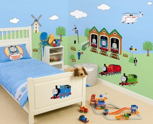 Decofun, Thomas Maxi Wall Stickers Room Kit: Amazon.co.uk: Kitchen U0026 Home