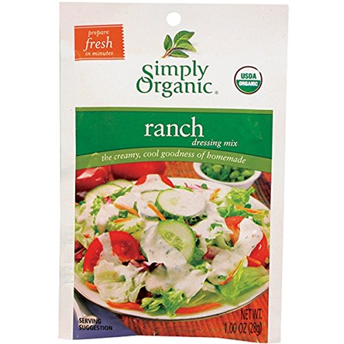 Simply Organic Ranch Dressing Mix (Pack of 3)