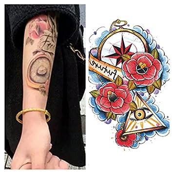LZC Nuevo 15x21cm Tatuaje Temporal Adulto para Hombro Brazo Grande ...