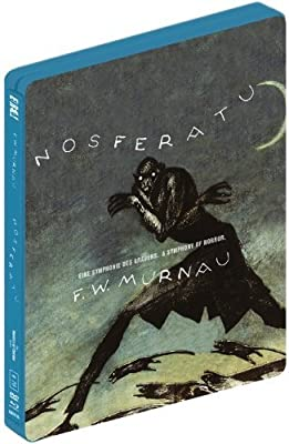 Nosferatu UK Limited Blu-Ray + DVD Steelbook Edition Region B