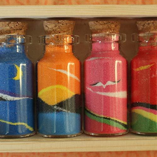 1c0690feb327 SUPERLELE 32pcs 10ml 4 Shapes Mini Glass Jars Bottles with Cork ...