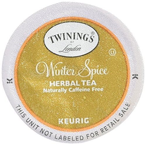 Spice Natural Herbal Tea (Twinings Winter Spice Tea, Keurig K-Cups, 12 Count)