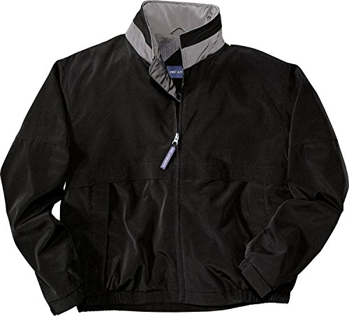 Port Authority Men's Port Authority Legacy Jacket. J764 XL Black/Steel Grey