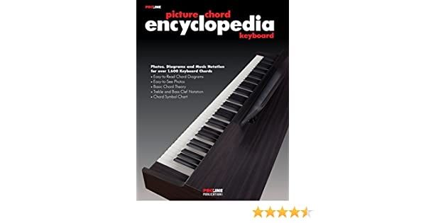 Proline Keyboard Picture Chord Encyclopedia Book Proline