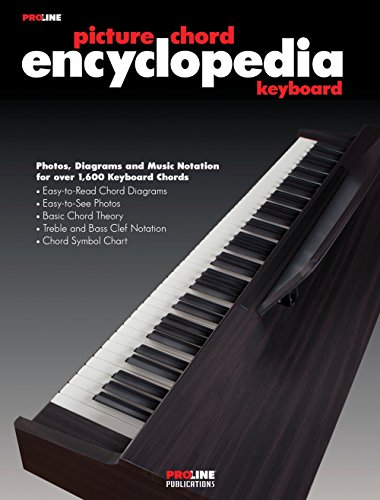 - Proline Keyboard Picture Chord Encyclopedia Book