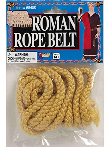 Forum Novelties 68408 Roman Rope Belt Party Supplies, One Size -