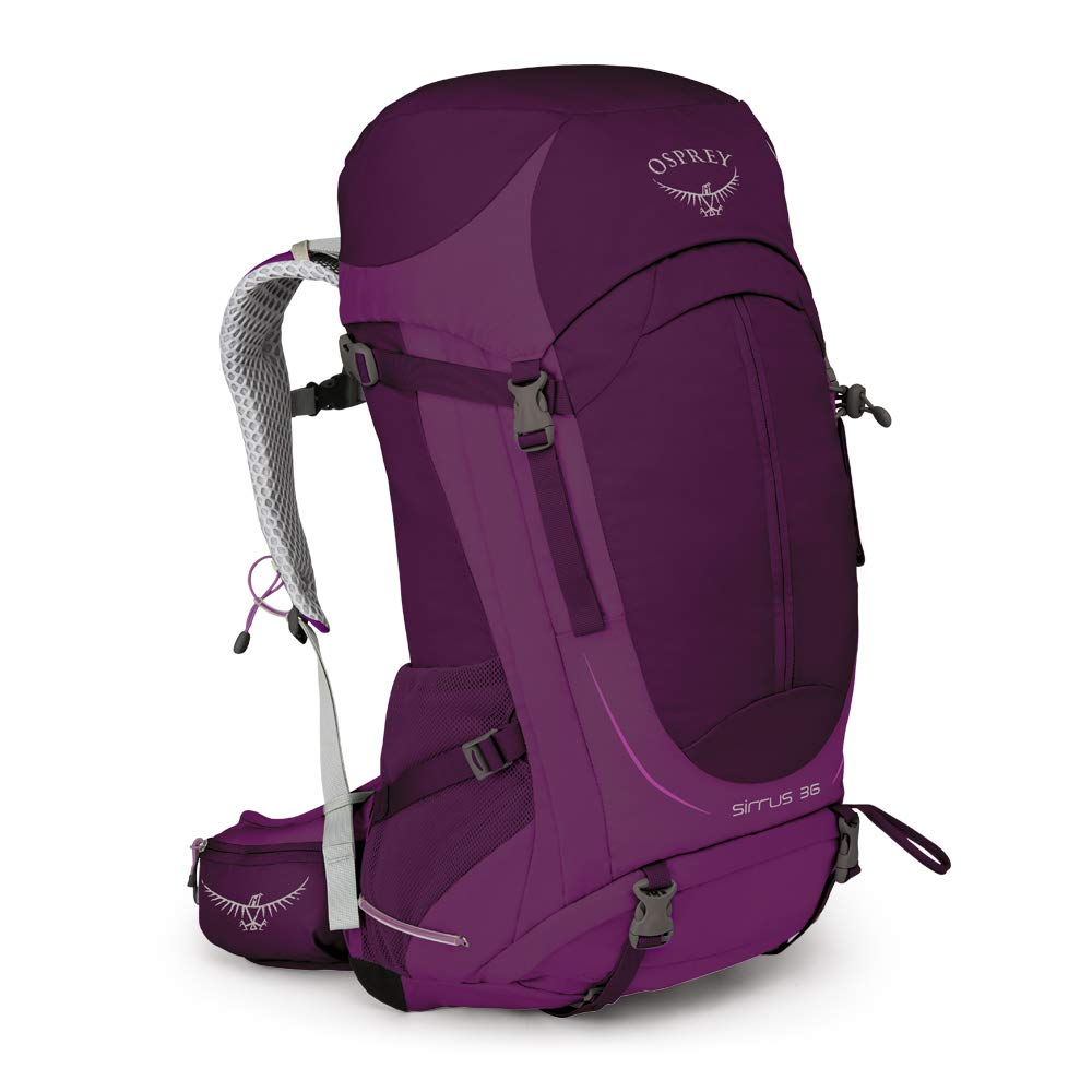 Osprey Packs Sirrus 36 Women's Hiking Backpack, Ruska Purple, Small/Medium