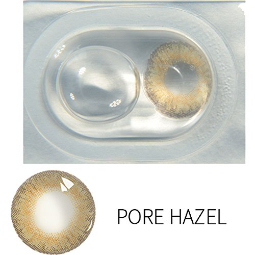 Zouvo New Women Materials Multicolor Cute Charm and Attractive Contact Lenses (Pure Hazel 1 PC)