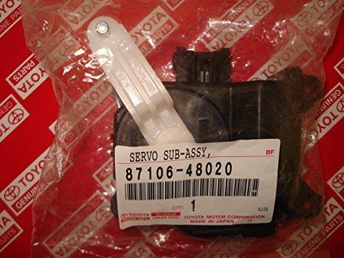 LEXUS A/C HEATER AIR MIX SERVO 87106-48020 - Heater Servo