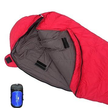 DUBAOBAO Saco De Dormir Individual Saco De Dormir Doble Al Aire Libre Lleno De 1500G 90