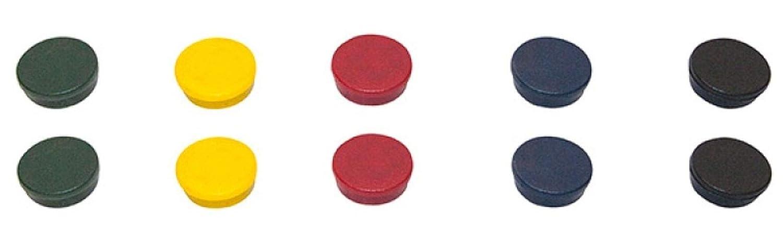 Bi-Silque Bi-Office 20 mm Round Magnet Pack of 10 Green