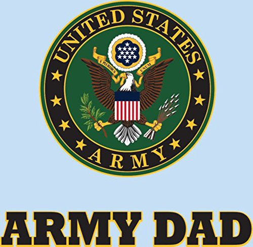 Army Dad Decal (U.S. Army Dad Clear Decal)