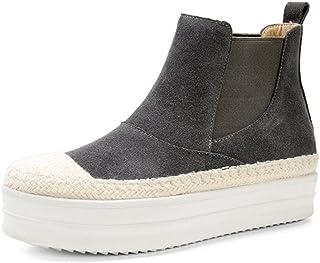 bottes de paille Muffin bottes femmes bottes bas Duantong printemps chaussures plates , grey , US5.5 / EU35 / UK3.5 / CN35
