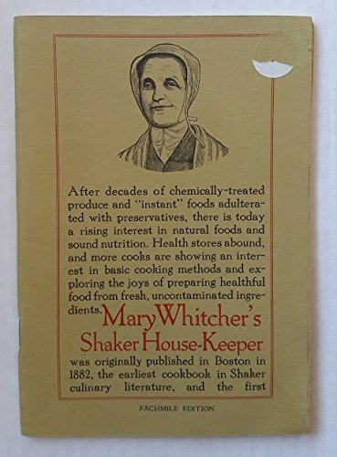 Mary Whitcher's Shaker House-Keeper