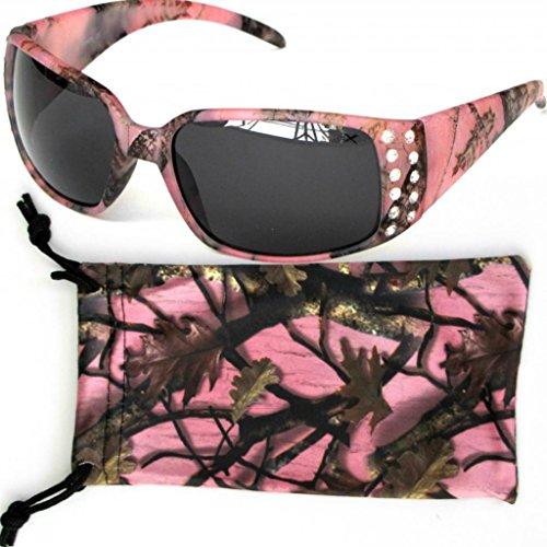 vertx-womens-pink-camouflage-sunglasses-rhinestone-camo-w-free-microfiber-cleaning-pouch-smoke-lens