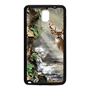 Deer Print Design Hard Case Cover Protector For Samsung Galaxy Note3