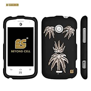 Beyond Cell® Hard Case Design Series - Leaf - Compatible with ZTE Prelude 2 Z667 - Slim Rubberized Hard Plastic (PC) Case - Retail Packaging